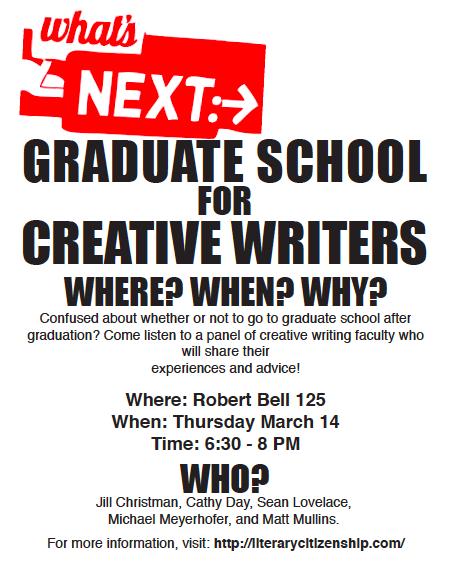 Graduate Creative Writing Programs